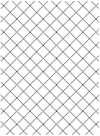 Darice WIRE FENCE Embossing Folder 121858 Preview Image