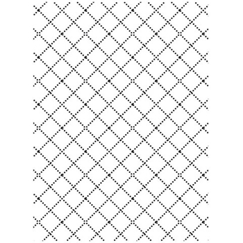 Darice WIRE FENCE Embossing Folder 121858
