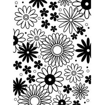 Darice FLOWER FRENZY Embossing Folder 1217-41
