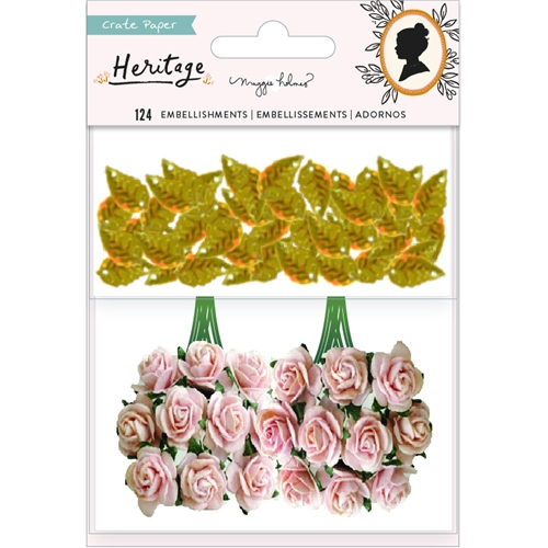 Crate Paper HERITAGE Paper Flowers And Sequins 350951* Preview Image