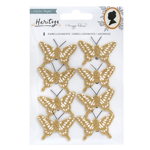 Crate Paper HERITAGE Butterflies 350954 Preview Image