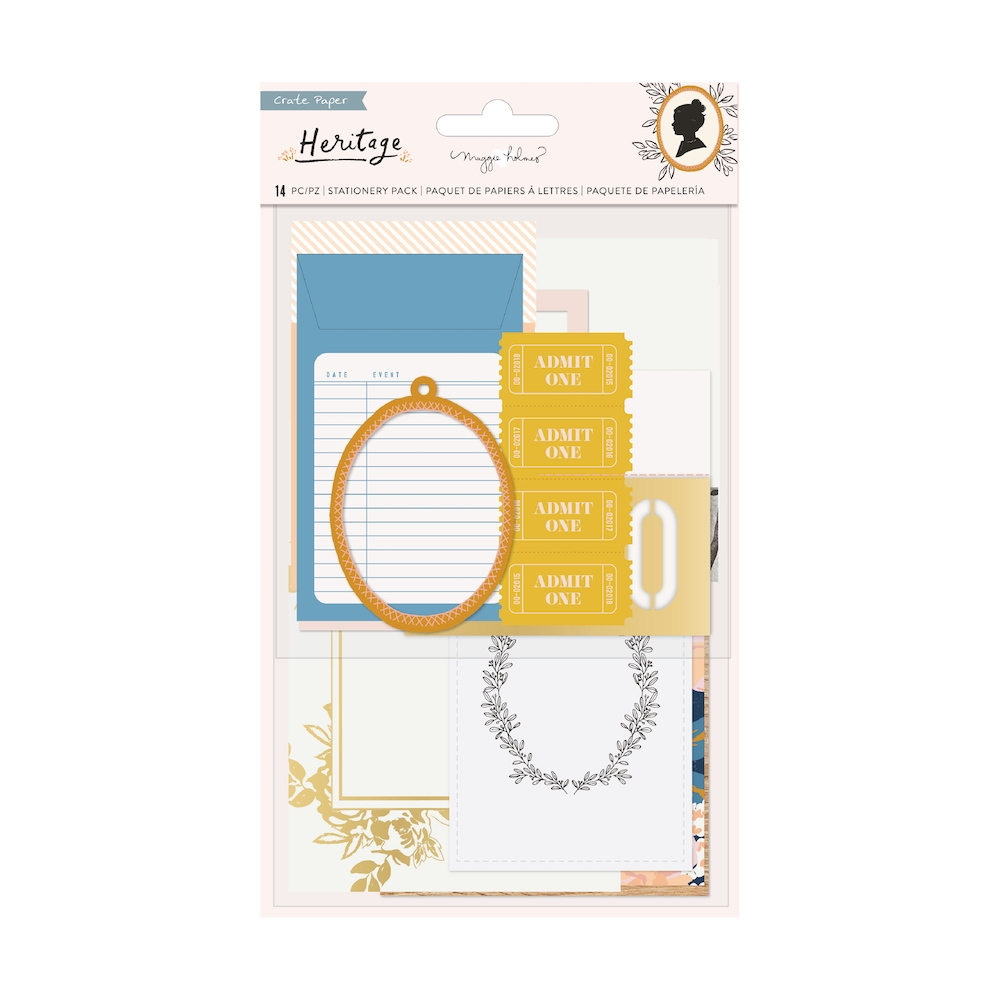 Crate Paper HERITAGE Stationary Pack 350956 zoom image