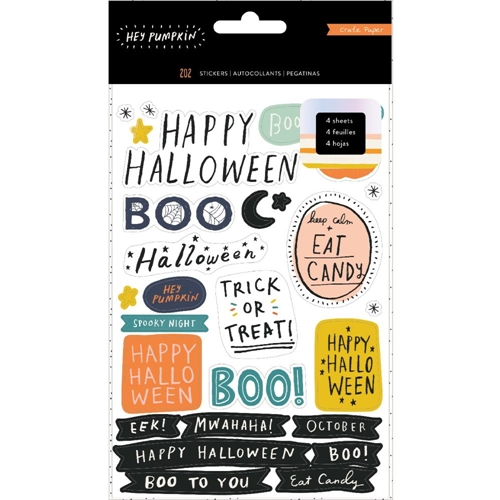 Crate Paper HEY PUMPKIN Sticker Book 350890* Preview Image