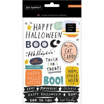 Crate Paper HEY PUMPKIN Sticker Book 350890