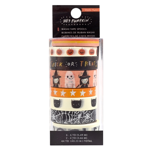 Crate Paper HEY PUMPKIN Washi Tape 350891 Preview Image