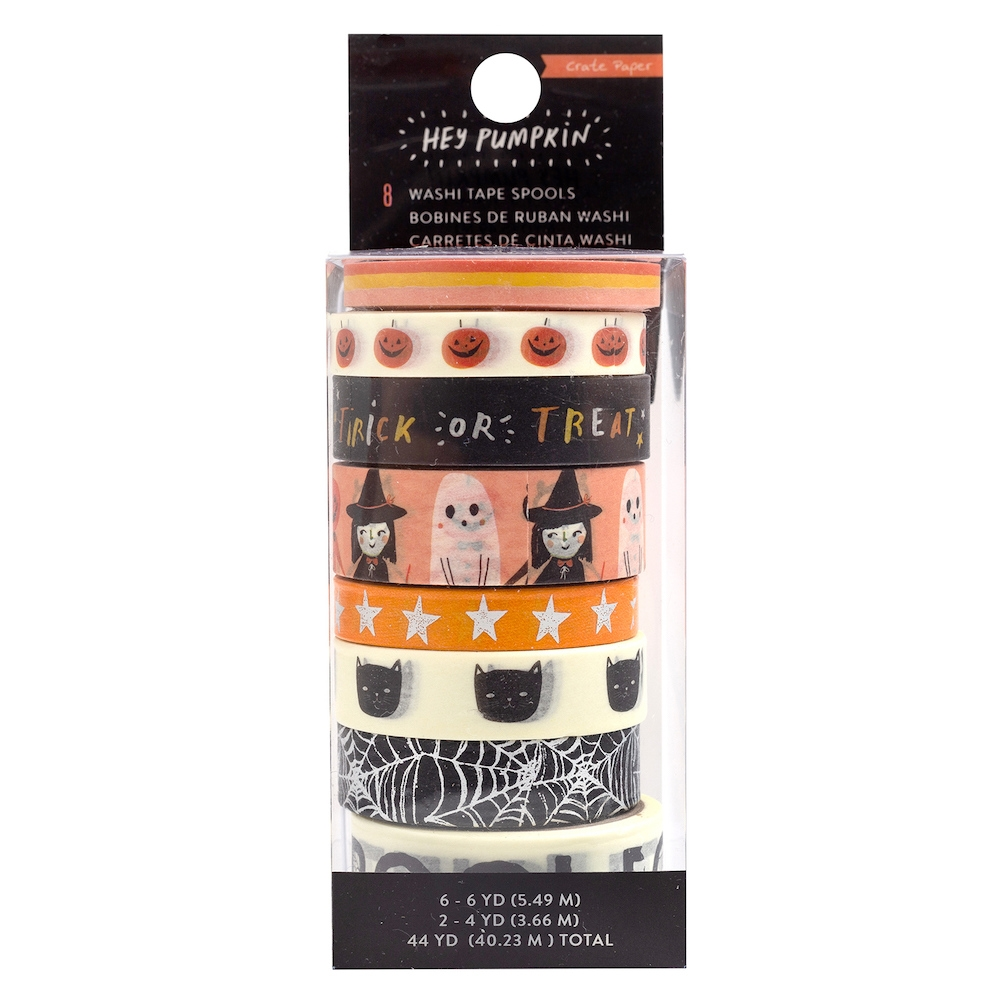 Crate Paper HEY PUMPKIN Washi Tape 350891 zoom image