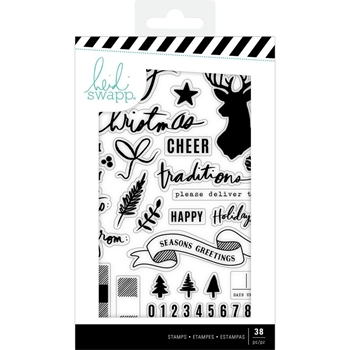 Heidi Swapp WINTER WONDERLAND Clear Stamps 314789