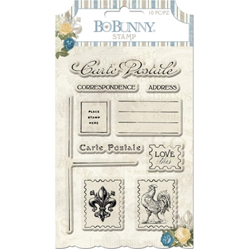 BoBunny BOULEVARD Clear Stamp Set 7310901
