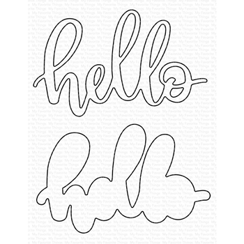 My Favorite Things LITTLE HELLO Die-Namics MFT1561