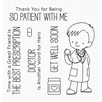 My Favorite Things BEDSIDE MANNER Clear Stamps BB77