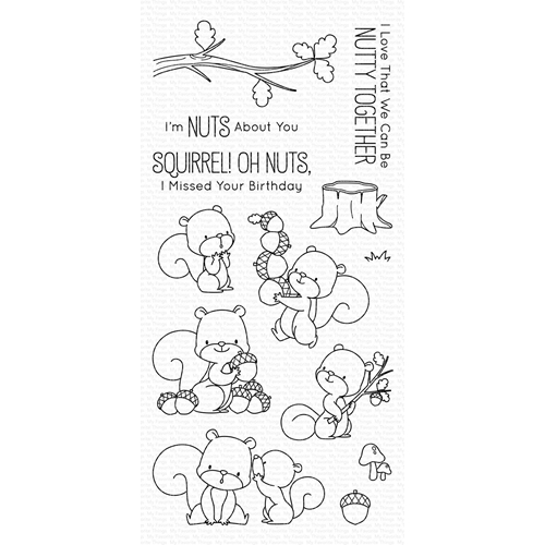 My Favorite Things SQUIRREL! Clear Stamps BB75 Preview Image
