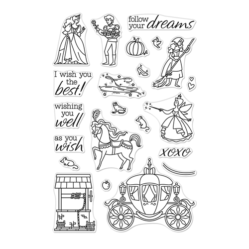 Hero Arts Clear Stamps AS YOU WISH CM390 Preview Image