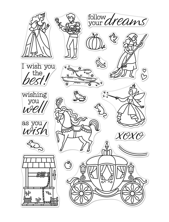 Hero Arts Clear Stamps AS YOU WISH CM390 zoom image