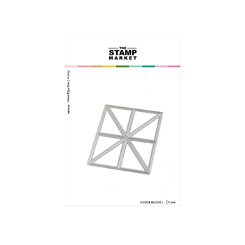 The Stamp Market COLOR BLOCK 1 Die Set tsm2121