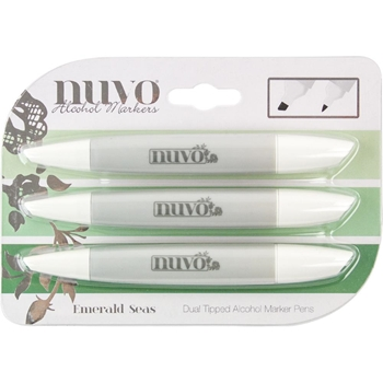 Tonic EMERALD SEAS Nuvo Creative Pen Collection 334n