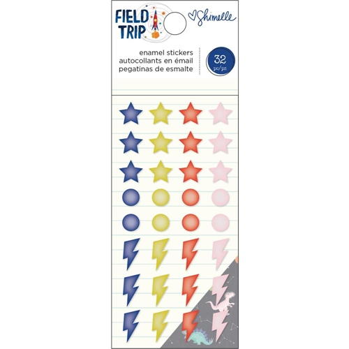 American Crafts Shimelle ENAMEL STICKERS Field Trip 352211 Preview Image