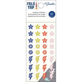 American Crafts Shimelle ENAMEL STICKERS Field Trip 352211