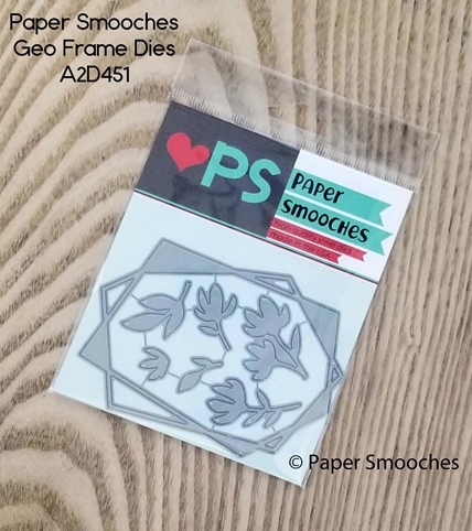 Paper Smooches GEO FRAME Dies A2D451 Preview Image