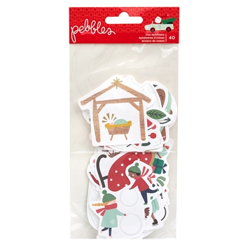 Pebbles Inc. ICONS Merry Little Christmas Ephemera 734146