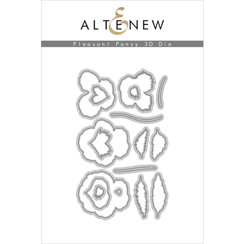 Altenew PLEASANT PANSY 3D Dies ALT3434 Preview Image