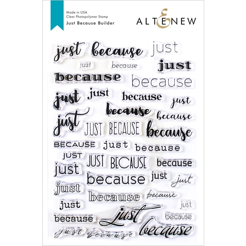 Altenew JUST BECAUSE BUILDER Clear Stamps ALT3417 Preview Image