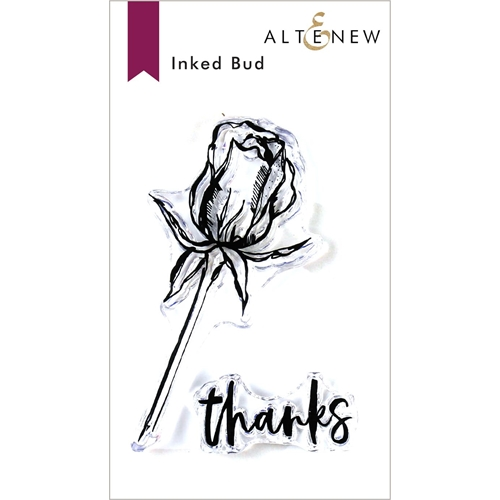 Altenew INKED BUD Clear Stamps ALT3416 Preview Image