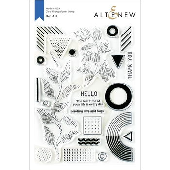 Altenew DOT ART Clear Stamps ALT3415