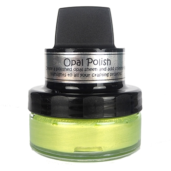Cosmic Shimmer YELLOW LIMES Opal Polish With Applicator csoplime