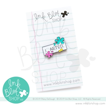 Ink Blot Shop Enamel Pin I ARTED ibpn004