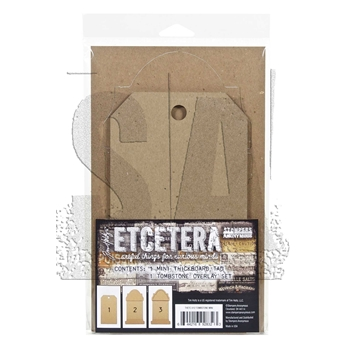 Tim Holtz Etcetera TOMBSTONE MINI ETC012