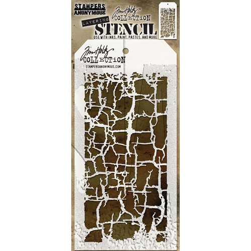 Tim Holtz Layering Stencil DECAYED THS129 Preview Image
