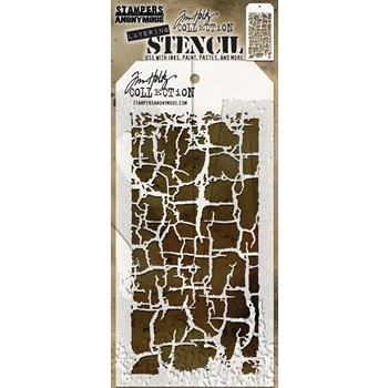 Tim Holtz Layering Stencil DECAYED THS129