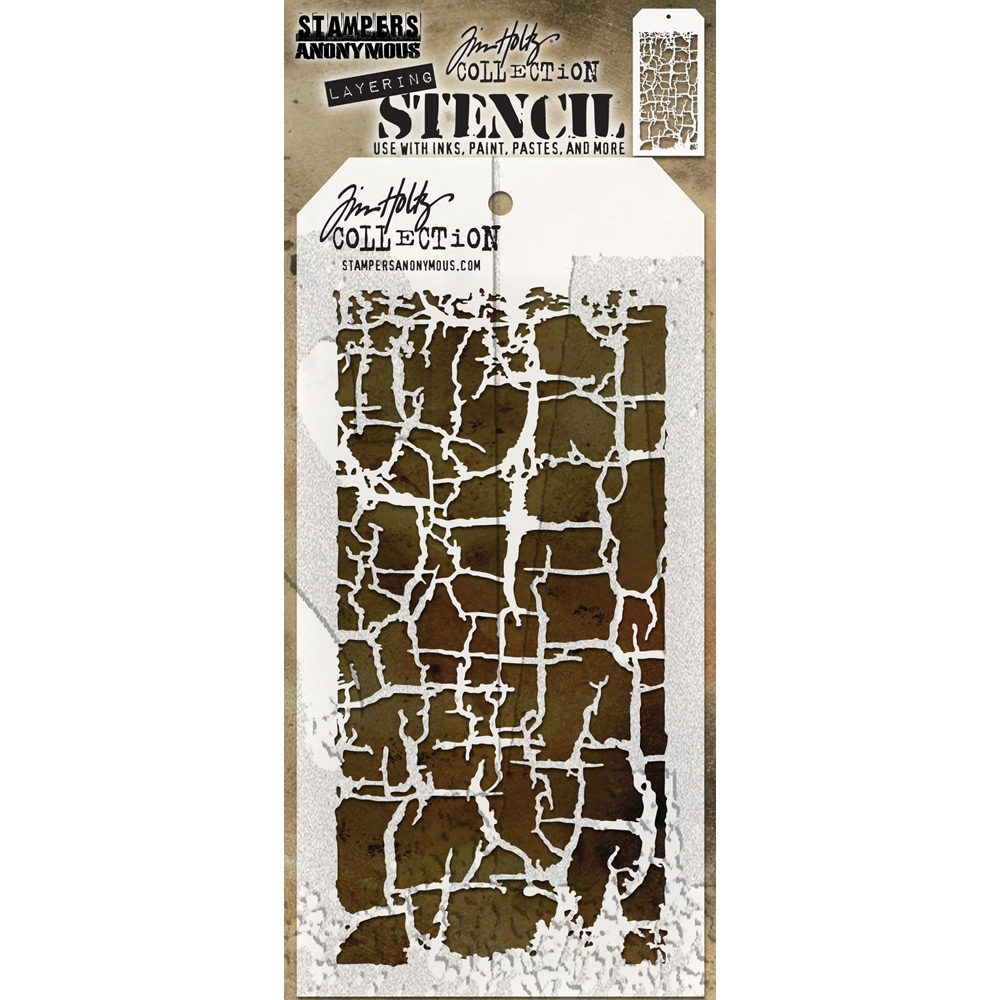 Tim Holtz Layering Stencil DECAYED THS129 zoom image