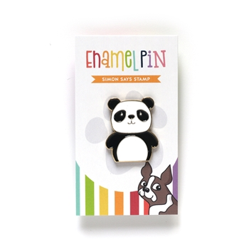 Simon Says Stamp PANDA Enamel Pin EP1024