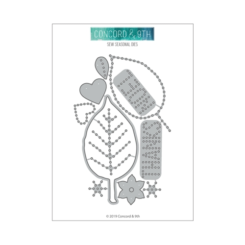 Concord & 9th SEW SEASONAL Die Set 10678 Preview Image