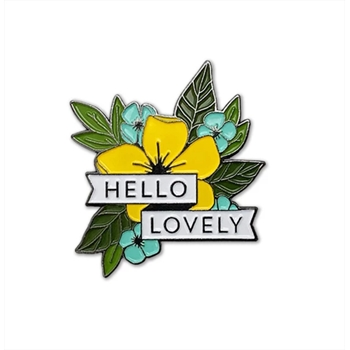 Concord & 9th HELLO LOVELY Enamel Pin 10654