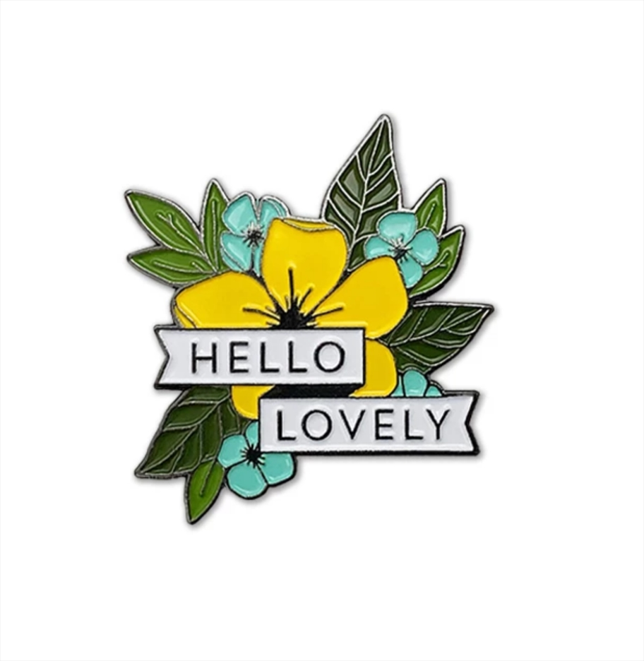 Concord & 9th HELLO LOVELY Enamel Pin 10654 zoom image