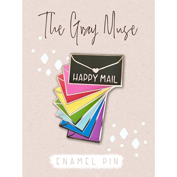 The Gray Muse RAINBOW ENVELOPE PACK Enamel Pin tgm-a19-p51