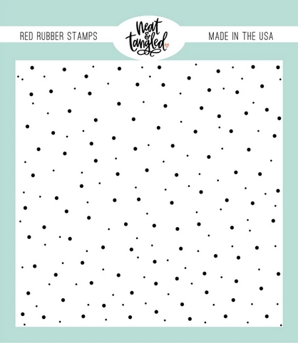 Neat and Tangled DELICATE DOTS Cling Stamp NAT483 Preview Image