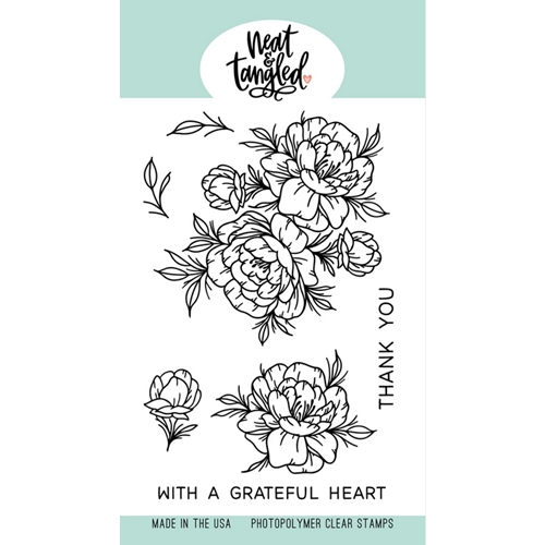Neat and Tangled GRATEFUL HEART Clear Stamps NAT481 Preview Image