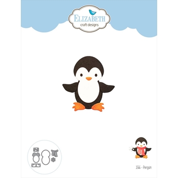 Elizabeth Craft Designs PENGUIN Craft Dies 1566