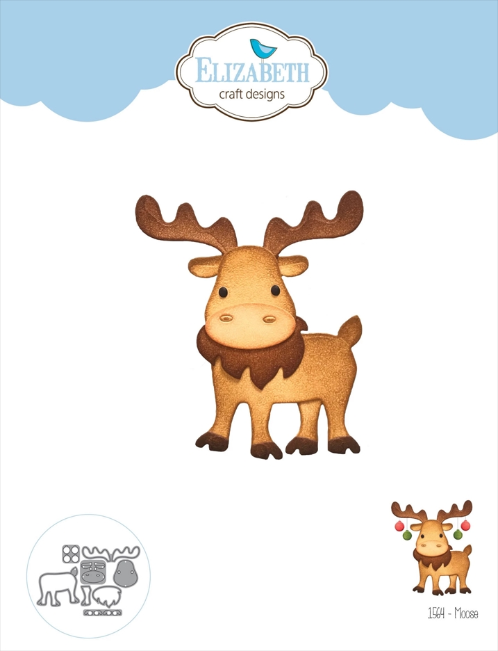 Elizabeth Craft Designs MOOSE Craft Dies 1564 zoom image