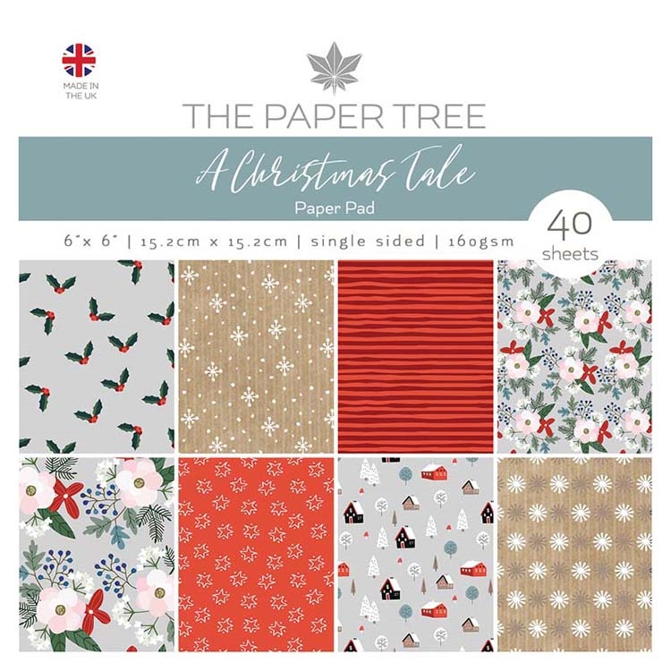 The Paper Tree A CHRISTMAS TALE 6x6 Paper Pad ptc1030 zoom image