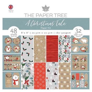 The Paper Tree A CHRISTMAS TALE Paper Kit ptc1029