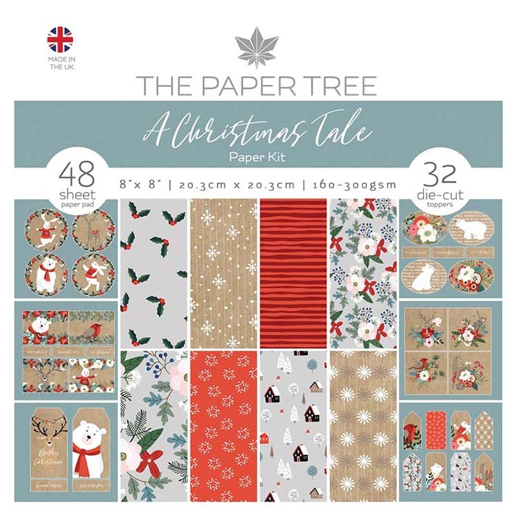 The Paper Tree A CHRISTMAS TALE Paper Kit ptc1029 zoom image