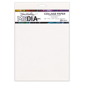 Dina Wakley Ranger PLAIN Collage Paper Media mda68204