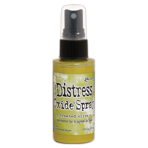 Tim Holtz Distress Oxide Spray CRUSHED OLIVE Ranger tso67641 Preview Image