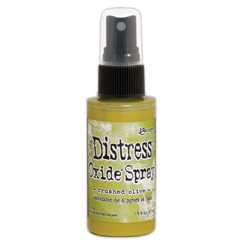 Tim Holtz Distress Oxide Spray CRUSHED OLIVE Ranger tso67641