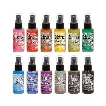 Tim Holtz Distress OXIDE SPRAY SET OF 12 Ranger ranger123
