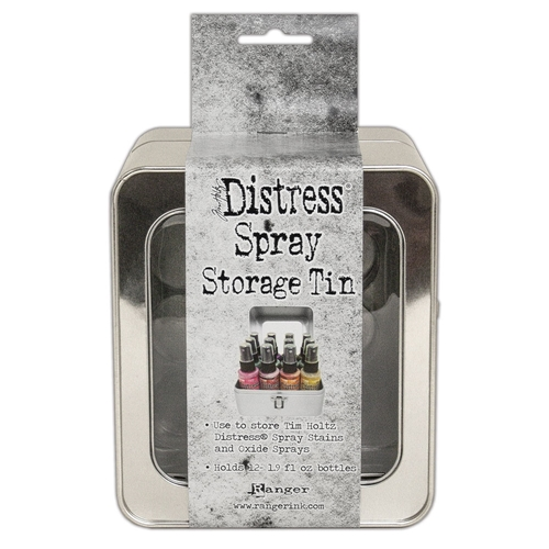 Tim Holtz DISTRESS SPRAY STORAGE TIN tda68068 Preview Image